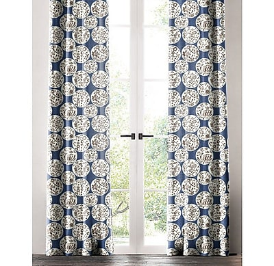 Darby Home Co Salas Floral Single Curtain Panel; 50'' W x 84'' L