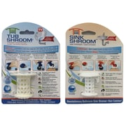 As Seen On TV TubShroom and SinkShroom Strainer and Hair Catcher Combo Pack (HWR-06941216)