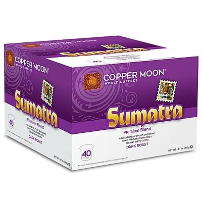 Copper Moon Sumatra Single Cup 40 count 2400150
