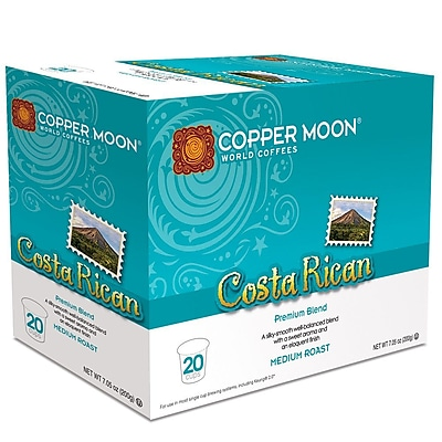 Copper Moon Costa Rican Single Cup 20 count 2400174