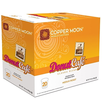 Copper Moon Donut Cafe Single Cup 20 count 2400172