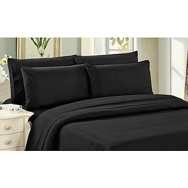 Bamboo Living 2000 Gulliver 6 Piece Rayon Sheet Set; Queen