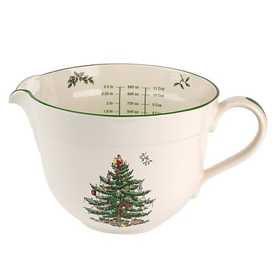 Spode Christmas Tree Ceramic Batter Jug