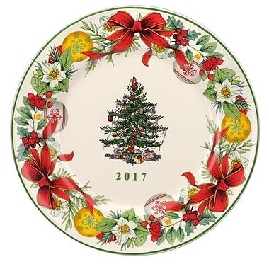Spode Christmas Tree 2017 Annual Decorative Plate