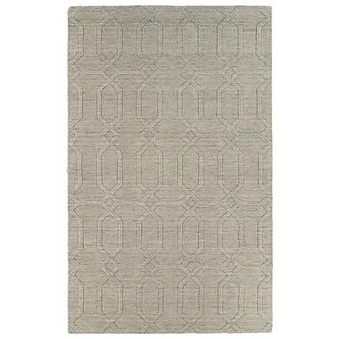 Ebern Designs Dobson Ivory Geometric Area Rug; 8' x 11'