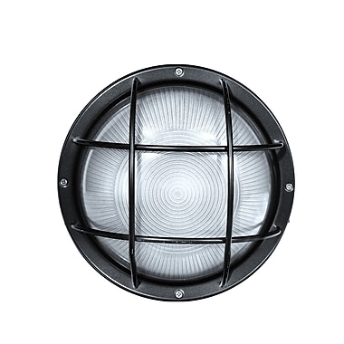 Cocoweb Winton 1-light Outdoor Bulkhead Light; Black