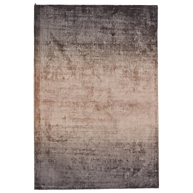 Orren Ellis Brigida Hand-Loomed Gray/Brown Area Rug; 5' x 8'