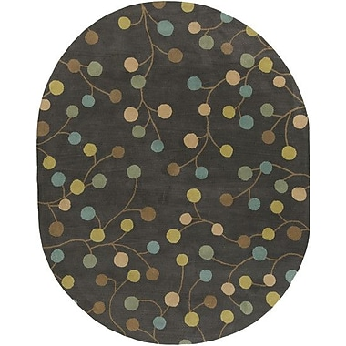Ebern Designs Diana Pewter Area Rug; 10' x 14'