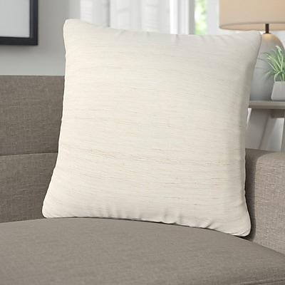 Corrigan Studio Alwick Silk Throw Pillow; Polyester/Polyfill