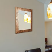 Bloomsbury Market Ellison Safari Rectangle Wall Mirror; 46'' H x 34'' W