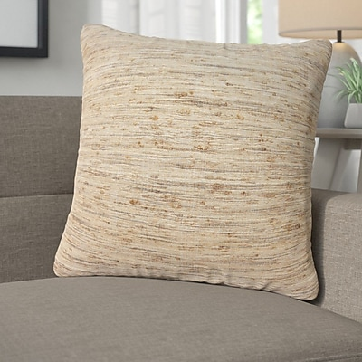 Corrigan Studio Alona Silk Throw Pillow; Down/Feather