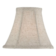 Gracie Oaks 6'' Solid Fabric Bell Candelabra Shade