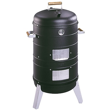 Meco Southern Country 2 in 1 Combo Charcoal Smoker and Grill