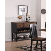 Gracie Oaks Burmuda Buffet Table