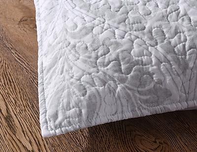 Alcott Hill Lydia Matelasse Floral Austere Moon Pillow Cover (Set of 2)