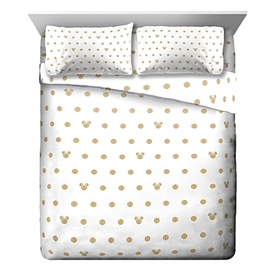 Disney Minnie Mouse Dots 4 Piece Sheet Set; Full