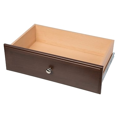 Easy Track Deluxe 24''W x 8''H Drawer; Truffle