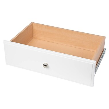 Easy Track Deluxe 24''W x 8''H Drawer; White
