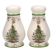 Spode Christmas Tree 2 Piece Salt and Pepper Set