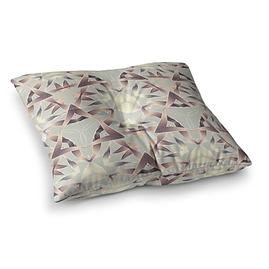 East Urban Home Illustration by Angelo Cerantola Floor Pillow; 26'' x 26''