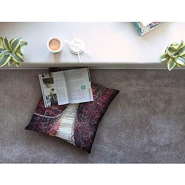 East Urban Home Enchant Bridge by Ann Barnes Floor Pillow; 23'' x 23''