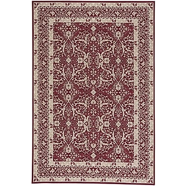 Darby Home Co Westerlo Ziegler Wool Red Area Rug; 3'11'' x 5'6''