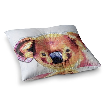 East Urban Home Cute Koala by Ancello Floor Pillow; 23'' x 23''