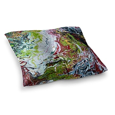 East Urban Home Chaos by Claire Day Floor Pillow; 23'' x 23''