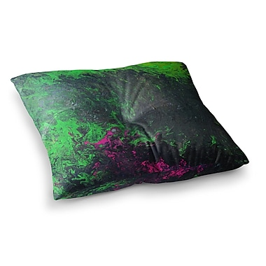 East Urban Home Acid Rain by Claire Day Floor Pillow; 23'' x 23''
