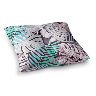 East Urban Home Midnight Jungle by Alison Coxon Floor Pillow; 26'' x 26''