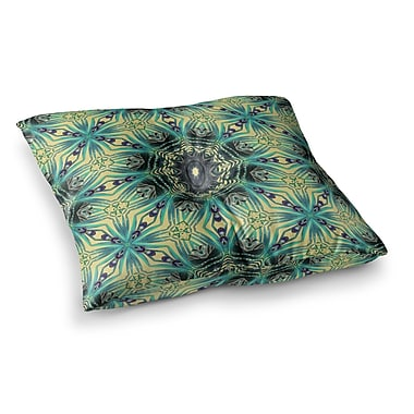 East Urban Home Paradise 2 Digital by Alison Coxon Floor Pillow; 26'' x 26''