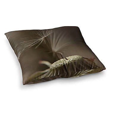 East Urban Home One Wish by Angie Turner Floor Pillow; 23'' x 23''