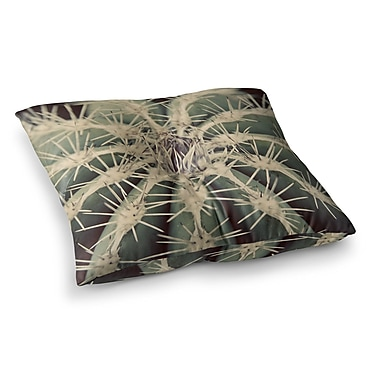 East Urban Home Cactus Plant by Angie Turner Floor Pillow; 26'' x 26''