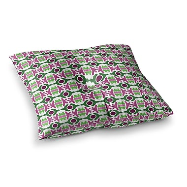 East Urban Home Island Dreaming Abstract by Empire Ruhl Floor Pillow; 23'' x 23''