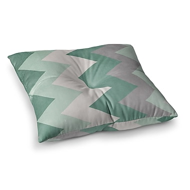 East Urban Home Winter by Catherine McDonald Floor Pillow; 23'' x 23''