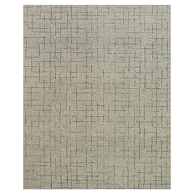 Union Rustic Barre Hand-Tufted Ash Area Rug; 5' x 8'