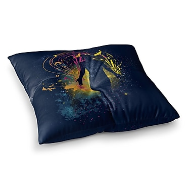 East Urban Home The Birds Master by Frederic Levy-Hadida Floor Pillow; 23'' x 23''