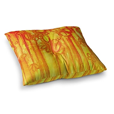 East Urban Home Summer Sentiments by Ebi Emporium Floor Pillow; 26'' x 26''