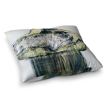 East Urban Home Oldtimer Bird by Josh Serafin Floor Pillow; 26'' x 26''