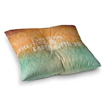East Urban Home Deco II Floor Pillow; 26'' x 26''