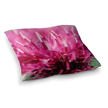 East Urban Home Frosted Tips by Beth Engel Floor Pillow; 23'' x 23''
