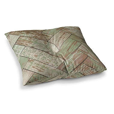 East Urban Home Patina by Heidi Jennings Floor Pillow; 23'' x 23''