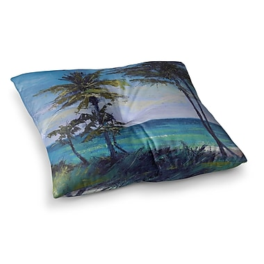 East Urban Home Room w/ a View by Carol Schiff Floor Pillow; 23'' x 23''