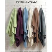 Red Barrel Studio Fieldsboro Pure Cotton Blanket; Queen