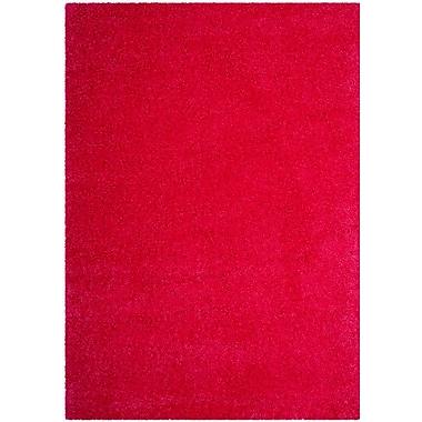Ebern Designs Collete Pink Area Rug; 8'6'' x 12'
