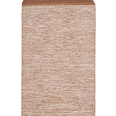 Gracie Oaks Mohnton Hand-Woven Brown/Gray Area Rug; 8' x 10'