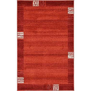 Orren Ellis Christi Red Area Rug; 10' x 13'