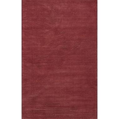 Latitude Run Galvan Brick Red Horizon Area Rug; 2'6'' x 4'2''