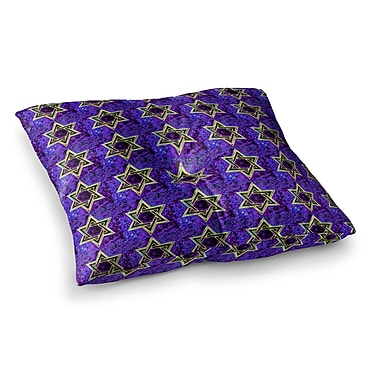East Urban Home David's Starry Sky! Pattern by Anne LaBrie Floor Pillow; 23'' x 23''