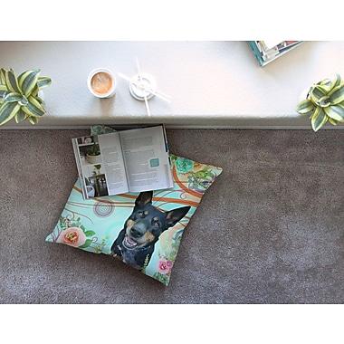 East Urban Home Hello Love by Alyzen Moonshadow Floor Pillow; 23'' x 23''